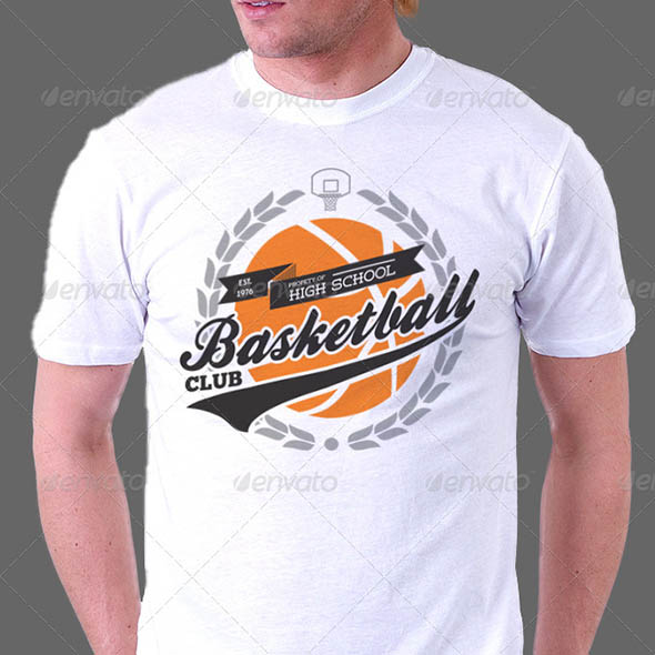 Retro Sport Club T-Shirt Template v1