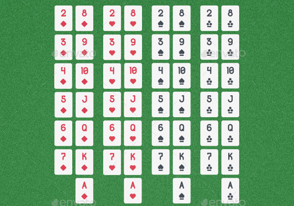 52 Simple Playing Cards