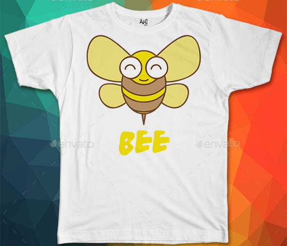 Bee Kids T-Shirt Design