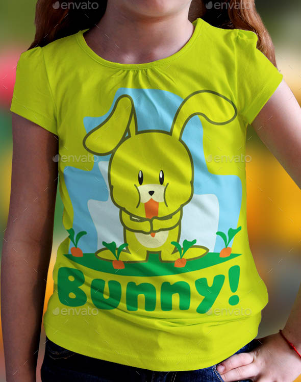 Bunny Kids T-Shirts