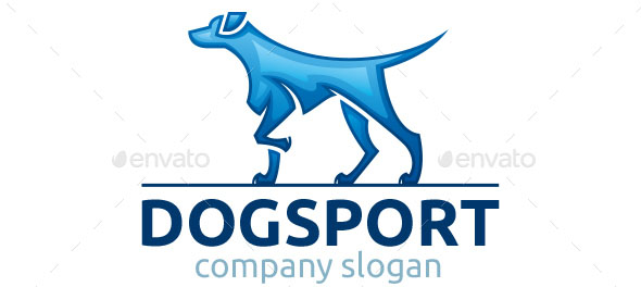 Dog Sport Logo Template