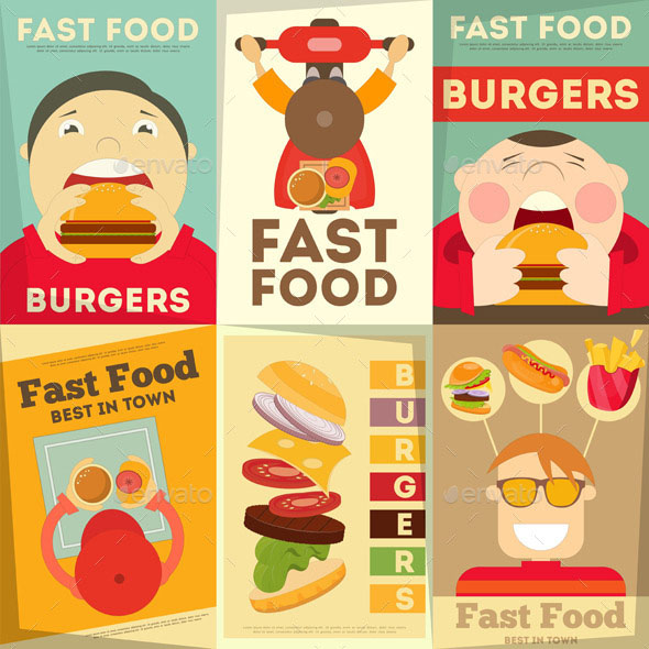 Fast Food Posters 01