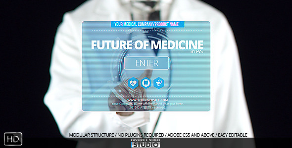 24 nice after effects templates for medical industry