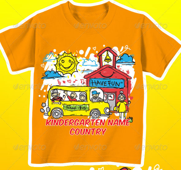 Kindergarten T-Shirt Kids
