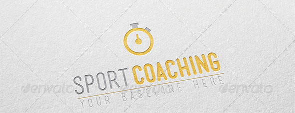 Sport Coaching Logo template