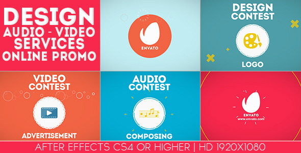 Design-Audio-Video Services Online Promo