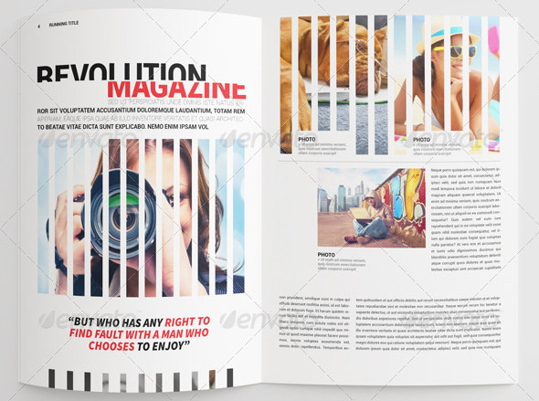 17 cool indesign templates for tech magazine design freebies for Seventeen magazine cover template