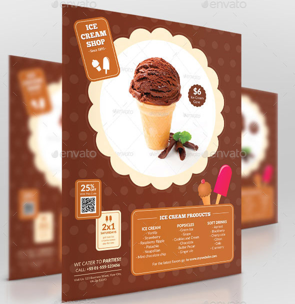 Business Promotion Ice Cream Shop