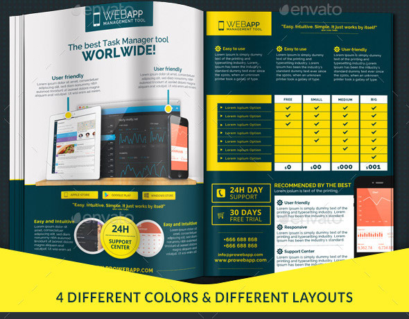 17 Cool InDesign Templates For Tech Magazine – Design Freebies