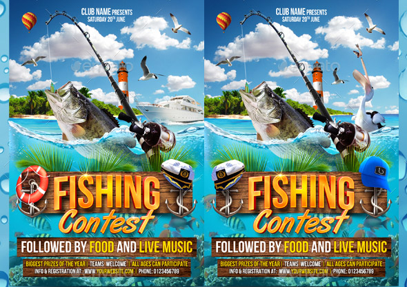 23 Cool Flyer Templates For Contest Event Design Freebies
