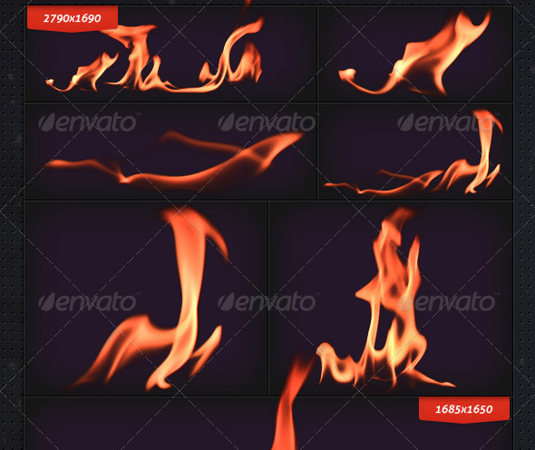 Ultimate Light Effects Collection Flames