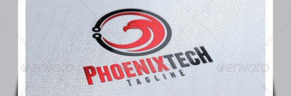 Phoenix Tech Logo Template
