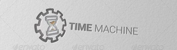 The Time Machine Logo Template