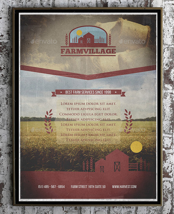 agriculture-corporate-flyer-template