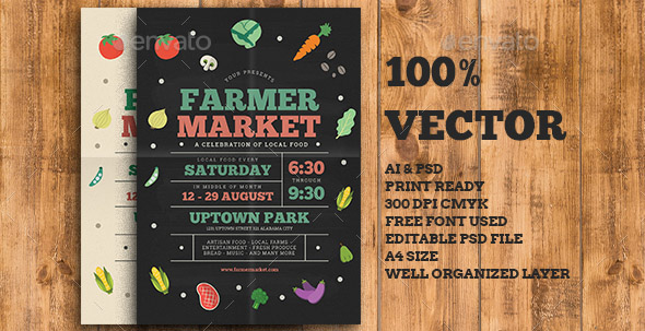 farmer-food-market-flyer