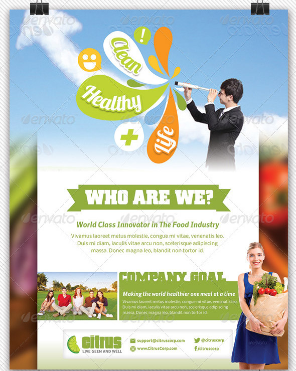 healthy-living-flyers