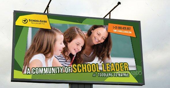 junior-school-education-outdoor-banner