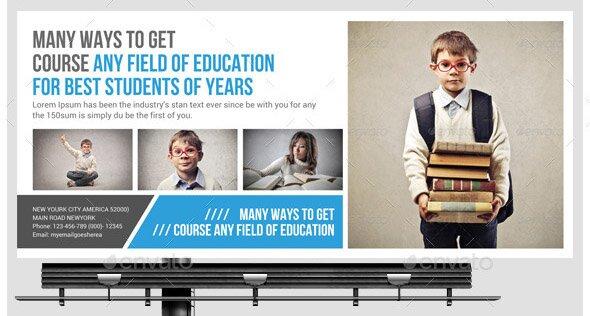 kids-school-education-billboard-template