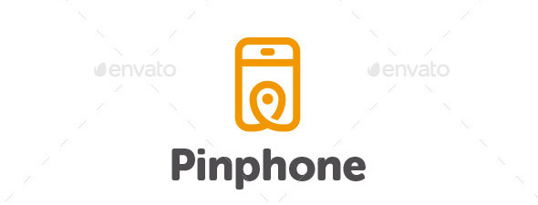 Pin Phone Logo