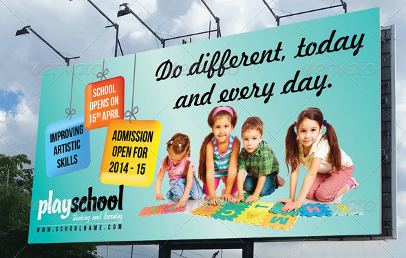 play-school-education-outdoor-billboard