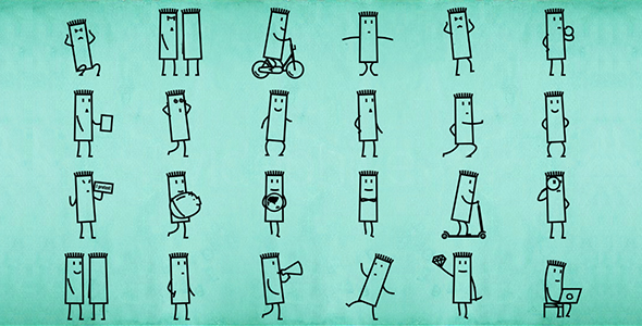 rectangle-cartoon-character-animation-pack-3