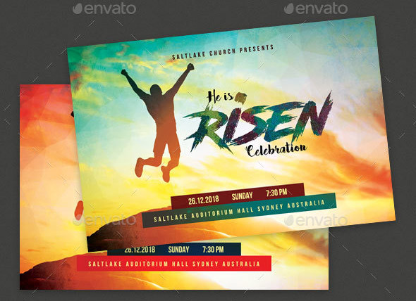 Risen Church Event Flyer