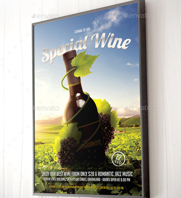 special-wine-party-flyer