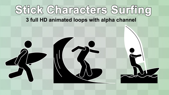 stick-charcters-surfing