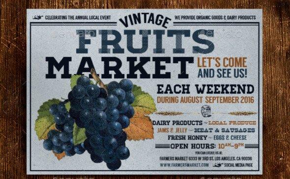 vintage-farmers-market-flyer