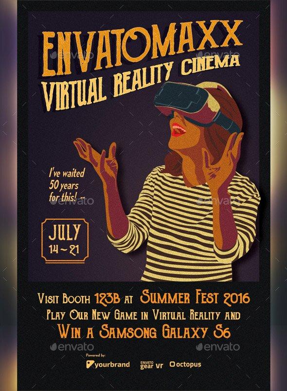 vintage-virtual-reality-cinema-flyer