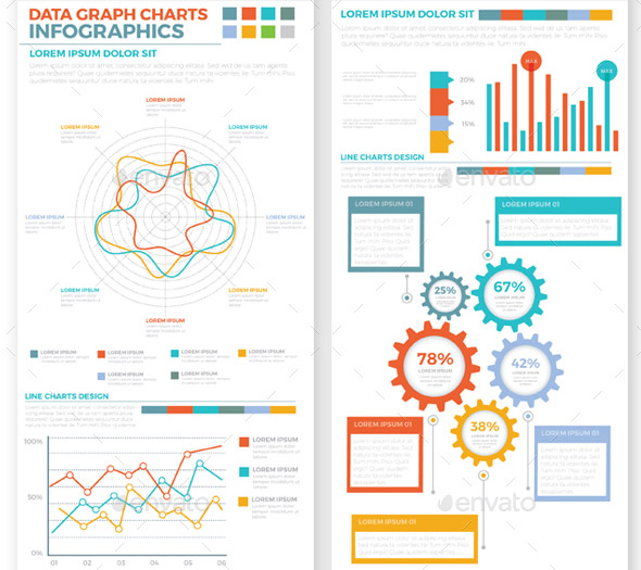 big-pack-infographics-elements-design