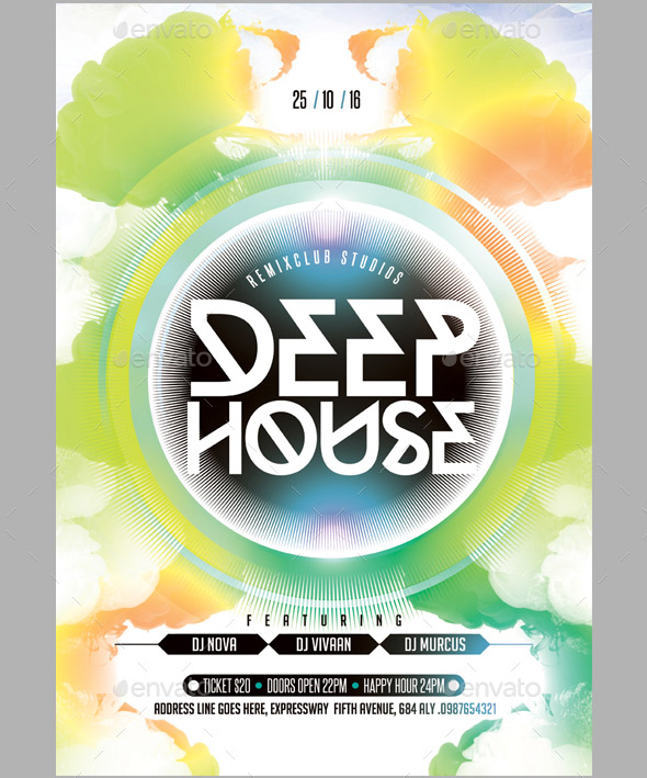 deep-house-flyer