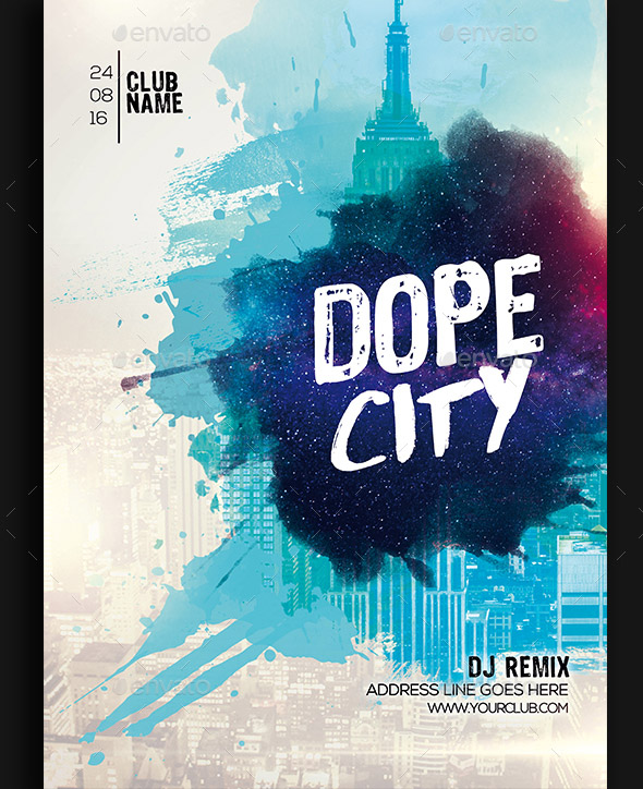 dope-city-party-flyer