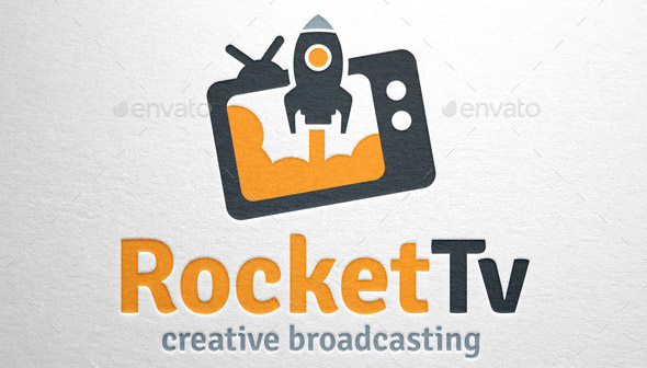 rocket-tv-logo-template