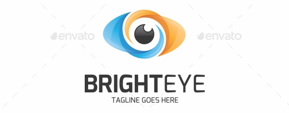 bright-eye-logo-template