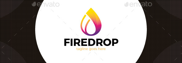 fire-water-drop-logo