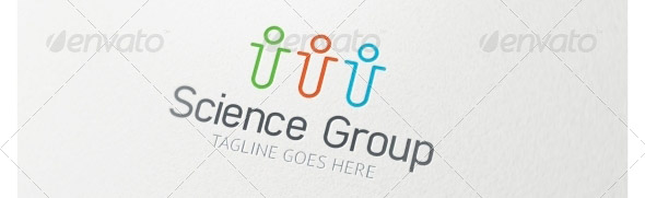 science-group-logo-template
