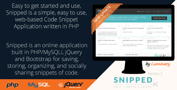 snipped-code-snippet-gallery-and-marketing-app