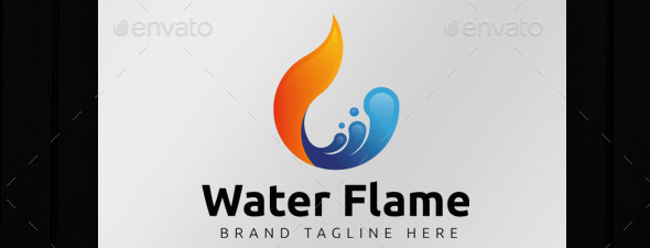 water-flame