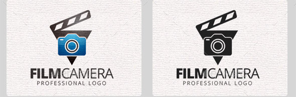 film-camera-logo-template