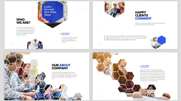 hexagon-keynote-template