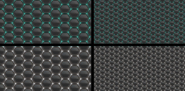 hexagon-seamless-tileable-patter