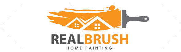 real-brush-logo-template