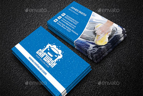 21 Cool Carservice Business Card Design Templates Design Freebies