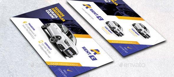 21 Cool Carservice Business Card Design Templates  U2013 Design