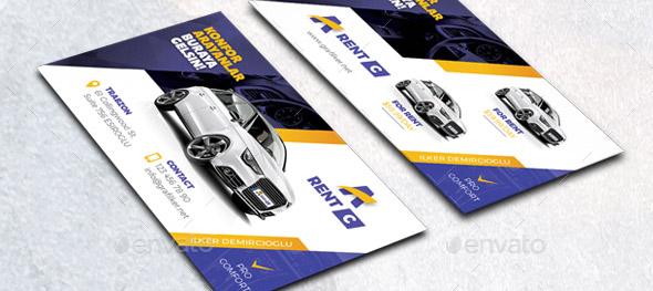 Mobile Tire Service >> 21 Cool CarService Business Card Design Templates – Design ...