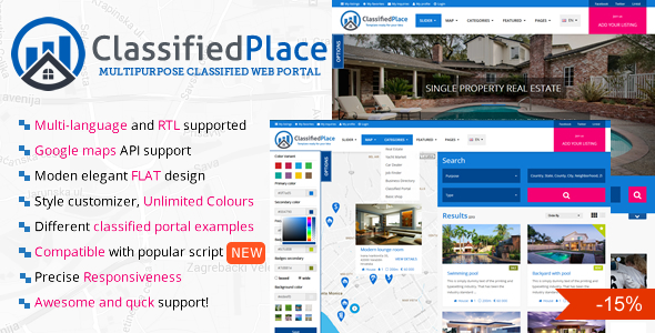 20 html templates for directory classified ads design freebies classified place is a complete classified portal template for real estate or any other classified ads related idea maxwellsz