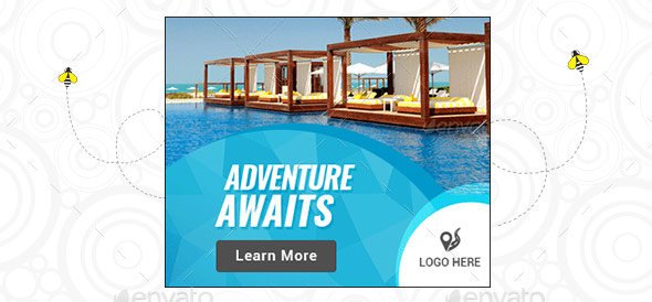 20 Cool Travel Animated Gif Web Banners Templates Design Freebies