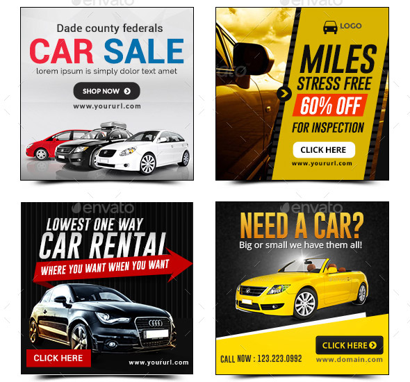 21 Cool Car Animated Gif Banners Psds Design Freebies
