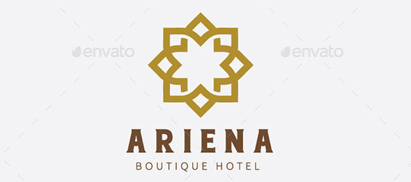 20 nice hotel guest house logo templates design freebies for Hotel logo design samples